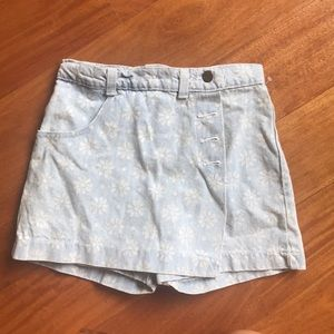 Pants - Super cute vintage denim/jean skort